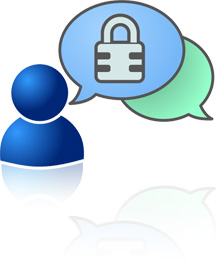 Encrypted instant messaging supported